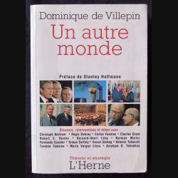 Un autre monde écrit par Dominique de Villepin aux éditions L'Herme - F012