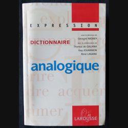 Dictionnaire analogique écrit par Georges Niobey aux éditions Larousse - F013