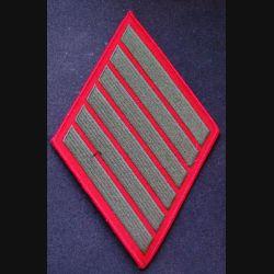 USA : bande d'ancienneté de service des Marine Corps (ici 24 ans 6x4)