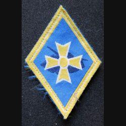 1° BB : insigne tissu basse visibilité de la 1° brigade blindée sur velcro