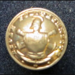 bouton d'uniforme militaire de l'école polytechnique TW8W Paris 2,2 cm