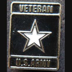 insigne de boutonnière des vétérans de l'US Army hauteur 2,5 cm