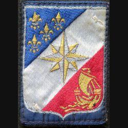 3° CA : insigne tissu du 3° Corps d'armée avec crochets