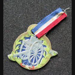 Médaille de journée cartonnée du 75 1915