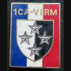 1° CA - VI° RM : 1° Corps d'armée VI° région militaire Ballard G. 2494