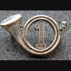 1° GCP : insigne métallique du 1° groupe de chasseurs portés de fabrication Drago Paris H. 120