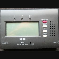 Accordeur guitare Korg GA GUITAR / BASS TUNER  (C208)