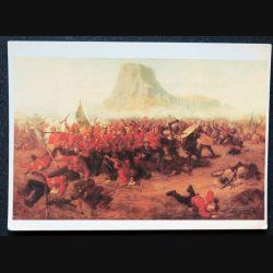 Carte postal sur the battle of Isandhlwana 1879