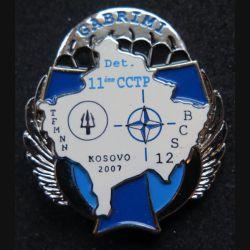 11° CCTP : compagnie de commandement et de transmissions parachutiste  BCS 12 Kosovo 2007 JYS N° 138