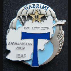 11° CCTP : 11° compagnie commandement transmissions parachutiste ISAF Afghanistan 2008 J.Y Ségalen