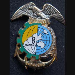 14° RPCS : 14° régiment parachutiste de commandement et de soutien HQ.COY SARAJEVO 8° Mandat  Ségalen N° 464