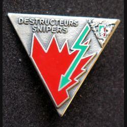 2° REP : 4° compagnie Destructeurs snipers du 2° régiment étranger parachutiste Drago