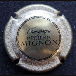 Capsule Muselet de bouteille de champagne Pierre Mignon Crème clair (L2)