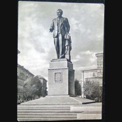 Carte postale Monument de Léningrad Mikhaïl  Kalinine 1956