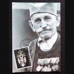 Carte postale de Zivojin Lazić Solunac héros de la Grande Guerre