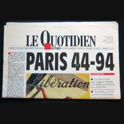 Le quotidien supplément hors série Paris 44-94 (C209)