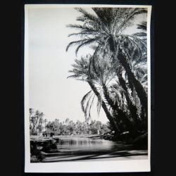 Photo argentique 18 x 24 cm sur la guerre d'Algérie Oued Béchar
