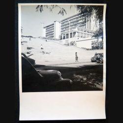 Photo argentique 18 x 24 cm sur la guerre d'Algérie Escalier du gouvernement général
