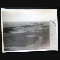 Photo argentique 18 x 24 cm sur la guerre d'Algérie image aérienne 1957