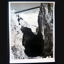 Photo argentique 18 x 24 cm sur la guerre d'Algérie gorges de Rhumel Constantine 1958