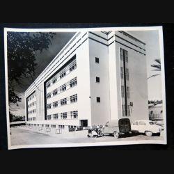 Photo argentique 18 x 24 cm sur la guerre d'Algérie Compagnie de l'Air 02-210 La caserne 1958