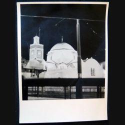 Photo argentique 18 x 24 cm la Mosquée place du gouvernement à Alger 1958
