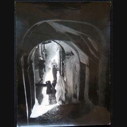 Photo argentique 18 x 24 cm Guerre d'Algérie Casbah Alger 1958