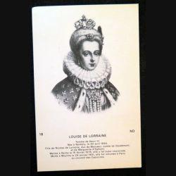 Photo carte postale de Louise de Lorraine