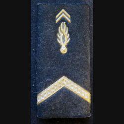 fourreau d'épaule métallique de gendarme adjoint de gendarmerie mobile