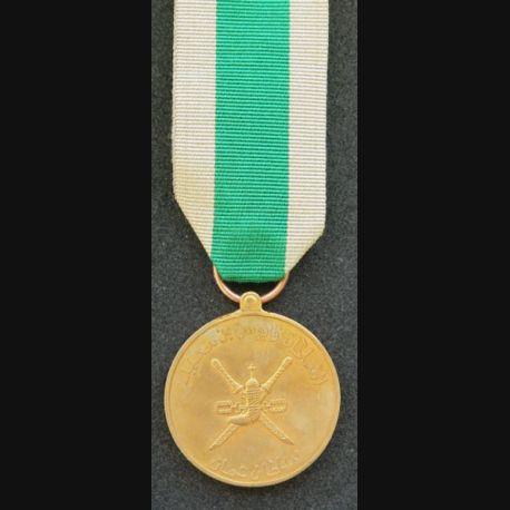 OMAN : médaille de la Paix Oman peace medal taille ordonnance