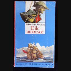 l'île au trésor écrit par Robert Louis Stevenson aux éditions Folio Junior Edition Spéciale - F018