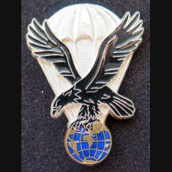 11° DP : État major de la 11° division parachutiste Delsart G. 3802 translucide argenté