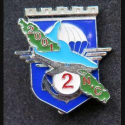 17° RGP : 2° compagnie du 17° régiment du génie parachutiste Nlle Calédonie 2001 Delsart numéroté 338