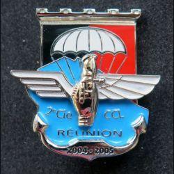 17° RGP : 2° Cie et CCL du 17° régiment du génie parachutiste La Réunion 2004-2005 BMB n° 163