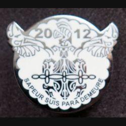 17° RGP : 1° compagnie du 17° Régiment du Génie Parachutiste Nouvelle Calédonie 2012 fabrication GLF