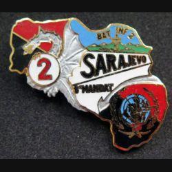 17° RGP : 2° compagnie du 17° Régiment du Génie Parachutiste BAT INF 2 Sarajevo 8° M JYS n°138
