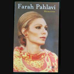 Mémoires écrit par Farah Pahlavi aux éditions XO Editions - F020