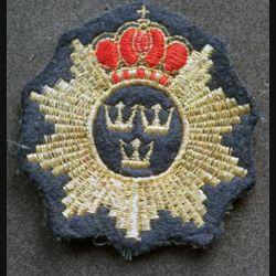 insigne tissu de béret  anglais de diamètre 7 cm