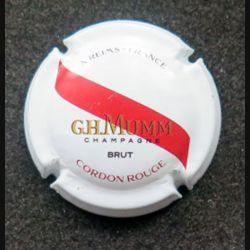 Capsule Muselet de bouteille de champagne G.H Mumm Cordon rouge (L4)