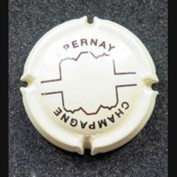 Capsule Muselet de bouteille de champagne Epernay (L7)