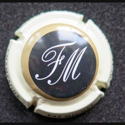 Capsule Muselet de bouteille de champagne Faÿ Michel rosé clair