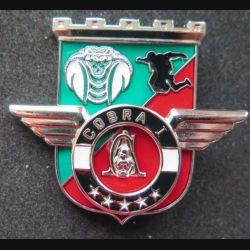 17° RGP : Unité COBRA 1 du 17° régiment du génie parachutiste Barkhane Mali 2014 MCPC numéroté modèle argenté