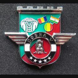 17° RGP : Unité COBRA V du 17° régiment du génie parachutiste Barkhane Niger Tchad 2015 MCPC numéroté modèle argenté