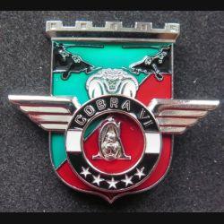 17° RGP : Unité COBRA VI du 17° régiment du génie parachutiste Barkhane Tchad 2015-2016 MCPC numéroté modèle argenté