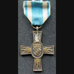 ALLEMAGNE : Médaille des pompiers de Bavière 1953 en bronze