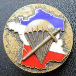 1° BPC : 1° bataillon de choc de fabrication Drago Béranger en émail