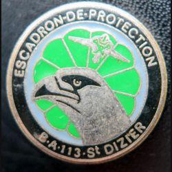 EP SAINT DIZIER : Escadron de protection 45 - 113 Saint Dizier de fabrication Delsart
