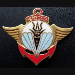 4° BCCP : 4° bataillon colonial commando parachutiste de fabrication Drago H. 739 en émail