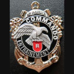CEC 2° RPIMa : insigne du Centre d' Entrainement Commando La Saline du 2° RPIMa DELSART
