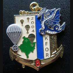 8° RPIMA : 8° Régiment Parachutiste infanterie de Marine KFOR 2004 fabrication Shéli